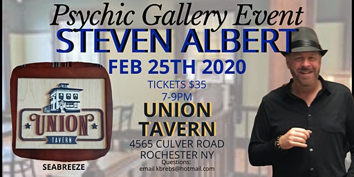 Steven Albert: Psychic Gallery Event - Union Tavern  2/25
