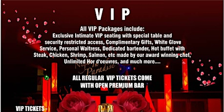 Long Island's Red Party VIP tickets