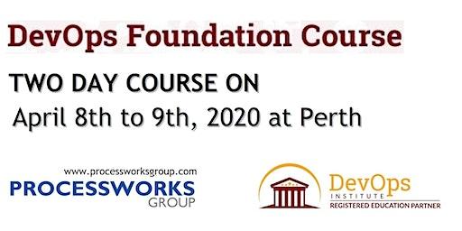 DevOps Foundation Course [2 Days Certification Course] on 8-9 Apr 2020
