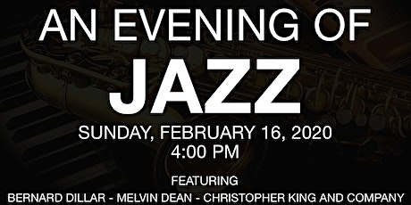 An Evening of Live Jazz tickets