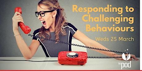 Responding to Challenging Behaviours tickets