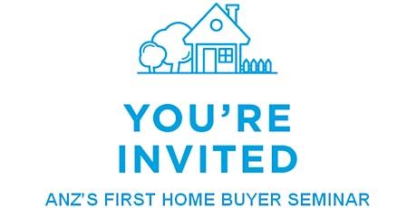 ANZ's First Home Buyer Seminar tickets