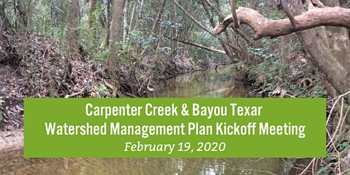 Carpenter Creek / Bayou Texar Watershed Community Meeting