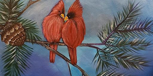 Cardinal Love- Every bodies favorite cardinals.