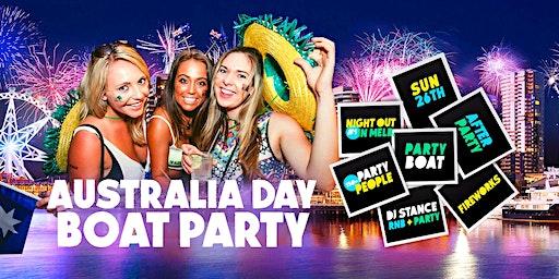 Australia Day Boat Party [Melbourne 2020]