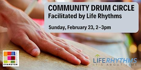 Community Drum Circle with Life Rhythms tickets