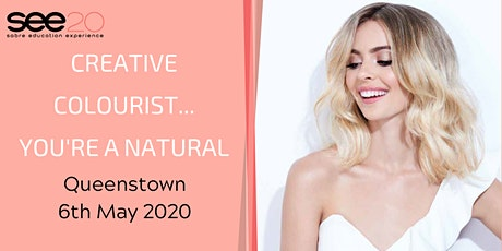 Creative Colourist... You're a Natural - QUEENSTOWN tickets