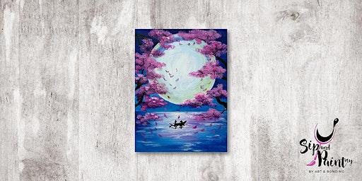 Sip & Paint MY @ Ampang :  Romantic Escape