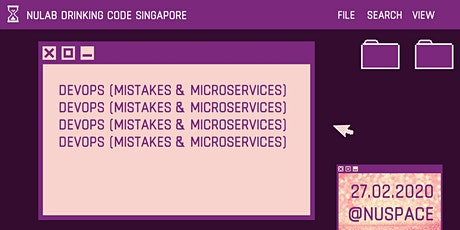 Nulab Drinking Code: DevOps (Mistakes & Microservices) tickets