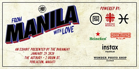 From Manila, with Love: An Exhibit Presented by The Barangay tickets