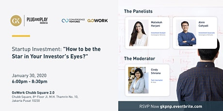 """Startup Investment: """"How to be the Star in Your Investor's Eyes?"""" tickets"""