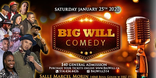 The BIG WILL Comedy Show