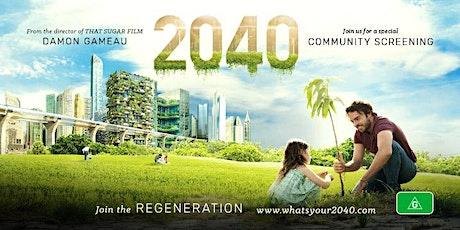 Outdoor Screening of '2040' tickets