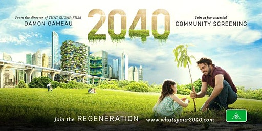 Outdoor Screening of '2040'