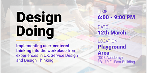 Implementing User-Centered Thinking Into the Workplace by DesignDoing