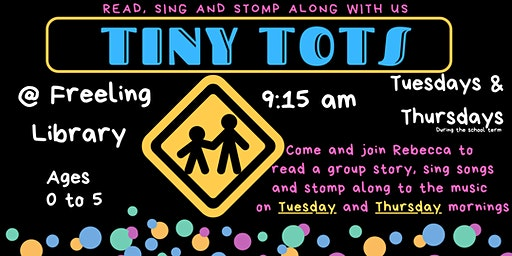 Tiny Tots @ Freeling Library