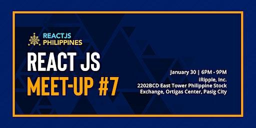 React JS Meetup #7