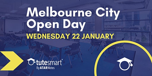 ATAR Notes Open Day | Melbourne City Centre | Wednesday 22 January 2020