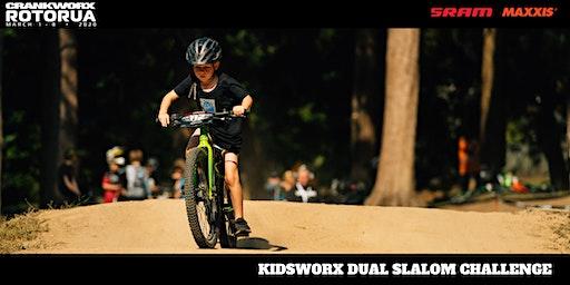 Kidsworx Dual Slalom Challenge - Crankworx Rotorua 2020