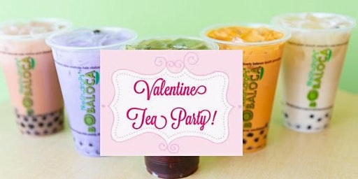 Valentines Tea Party at Bobaloca