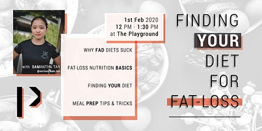 Finding Your DIET For Fat Loss
