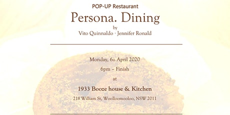 Persona Dining tickets