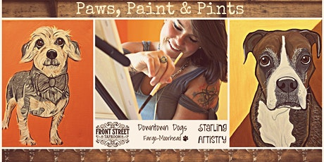 Paws, Paint & Pints 01/27 tickets