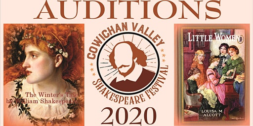 2020 Cowichan Valley Shakespeare Festival - AUDITIONS