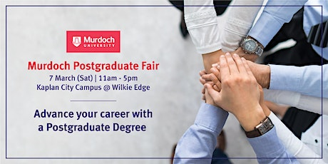 Murdoch University Postgraduate Fair				 7 Mar 2020 tickets