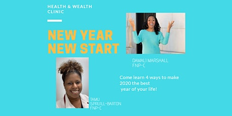 New Year New Start (Health and Wealth Clinic) tickets