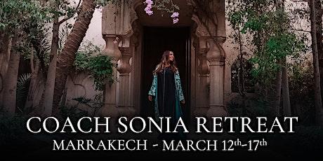 Coach Sonia Marrakech Retreat tickets