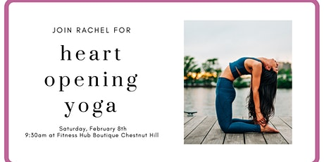 Heart Opening Yoga Flow with Rachel Prime tickets