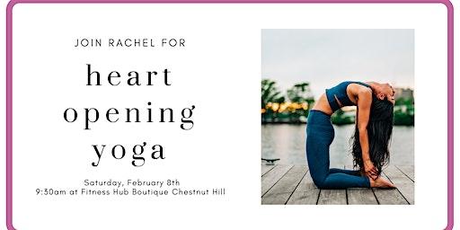 Heart Opening Yoga Flow with Rachel Prime