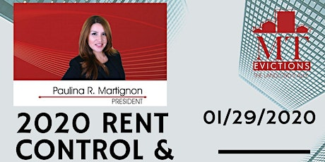 2020 Rent Control & Evictions Update tickets