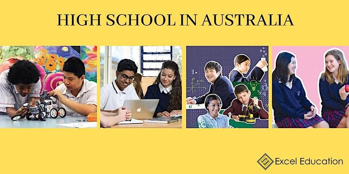 Study High School in Australia Info Session image