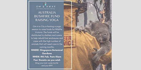 Australia Bushfire Fund Raising Yoga tickets