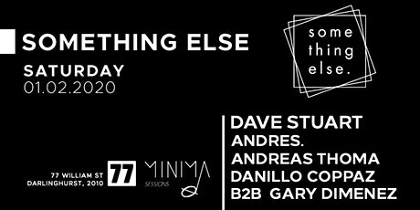 Something Else Crew // Minima Boat After Party tickets