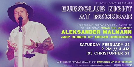 Euroclub Night at Rockbar feat. Aleksander Walmann! tickets