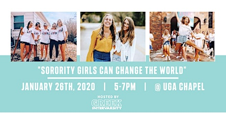 Sorority Girls Can Change the World @ UGA tickets