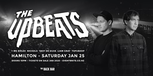 THE UPBEATS - Drum and Bass at Back Bar