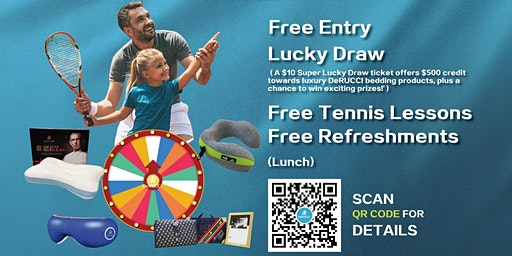 The DeRUCCI Cup Championship Family Tennis Carnival