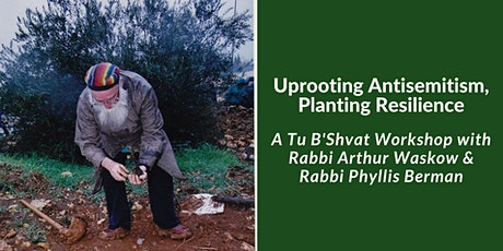 Uprooting Antisemitism, Planting Resilience tickets
