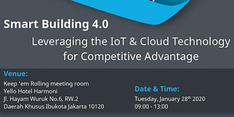 Leveraging The IoT and Cloud Technology for Competitive Advantage tickets