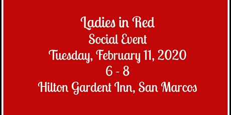 Ladies in Red Social tickets