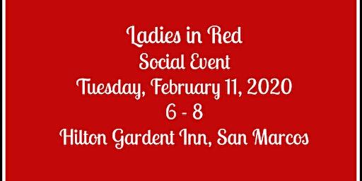 Ladies in Red Social