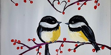 Canvas Painting! Create Chick a Dee Love in Steveston tickets
