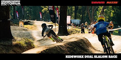 Kidsworx Dual Slalom Race - Crankworx Rotorua 2020