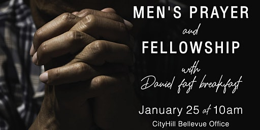 Men's breakfast, prayer & fellowship