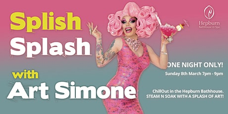 Splish Splash with Art Simone - Chillout Festival tickets