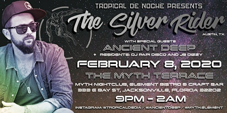 THE SILVER RIDER (Austin, TX) at Myth Terrace | Saturday 02.08.20 tickets